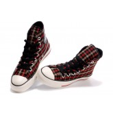 Converse France Chuck Taylor Plaid Rouge Jaune