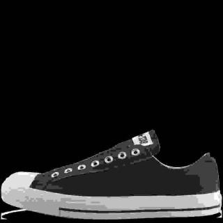 Converse Homme Slip-On All Star Basse Toile Noir