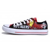 Converse France Iron Man Imprimé Rouge Noir