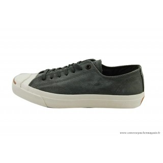 Converse Jack Purcell Basse Homme Cuir Charcoal Grise