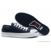 Converse Jack Purcell Classic Basse Toile Bleu Marine Blanche