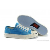 Converse Jack Purcell Ltt Basse Toile Bleu Royal