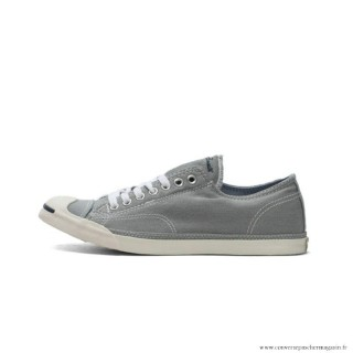 Converse Jack Purcell Toile Basse Grise Blanche