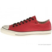Converse John Varvatos All Star Basse Toile Rouge