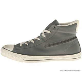 Converse John Varvatos All Star Zip Haute Charcoal Grise