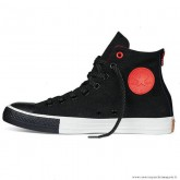 Converse Noir Rouge Chuck Taylor All Star Zip Homme