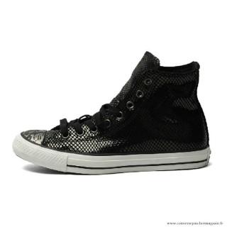 Femme Converse All Star Haute Antiskid Chaussures Noir