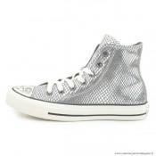 Femme Converse All Star Haute Antiskid Chaussures Silover