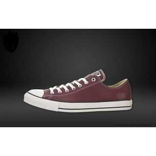 Homme Converse Chuck Taylor Basse Cuir Chaussures Ox Heart