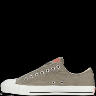 Homme Converse Slip-On All Star Basse Toile Holzkohle