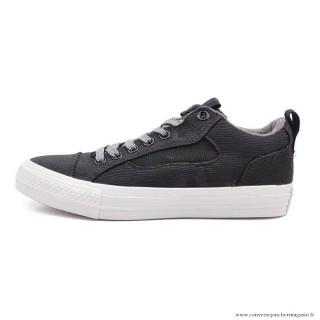 Homme Leisure Chaussures Converse All Star Noir Grise
