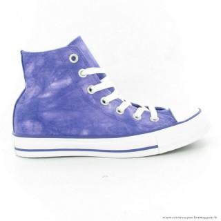 Homme Tie Dye Converse All Star Haute Suede Filigrane Bleu