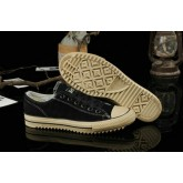 Suede Noir Homme Converse All Star Ox Basse