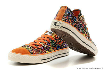 Converse Chuck Taylor All Star Basse Toile Chaussures Floral