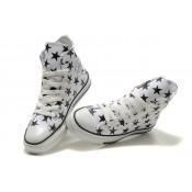 All Star Converse Blanc étoile Noir