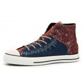 All Star Converse Bleu Brun
