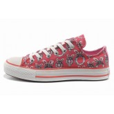 Chaussures Converse Plateforme Rose