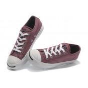 Chaussures Converse Rétro Lavée Rouge