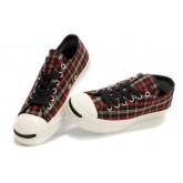 Chaussures Converse Rouge à Carreaux