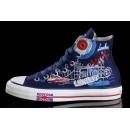 Chaussures Converse Semelles Bleues Uk Flag