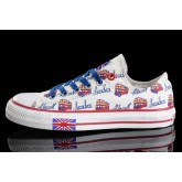 Chaussures Converse Uk Flag Semelles Blanches