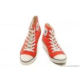 Chaussures d'été Rouge Converse Chuck Taylor All Star Femme Wedges