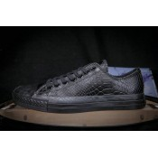 Converse All Star Basse Croco Noir