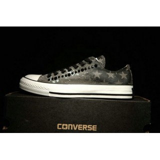Converse All Star Basse Homme Camo Stud Grise Pommier