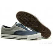 Converse All Star Basse Homme Toile Bleu Marine Grise