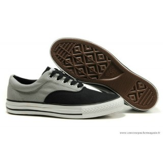 Converse All Star Basse Homme Toile Noir Grise
