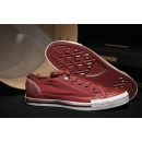 Converse All Star Basse Toile Bordeaux