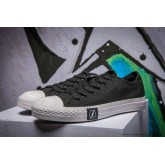 Converse All Star Basse Toile Chaussures Foudre Noir
