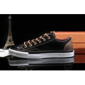 Converse All Star Basse Toile Homme Chaussures Noir Chocolat