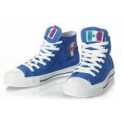 Converse Pas Cher Converse All Star Coupe Du Monde Italie Bleu Du Drapeau