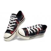 Chaussures Converse Pro Cuir Blanc Millésime Étoile Bleue