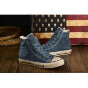 Converse All Star Haute Chaussures Pour Homme Toile Bleu
