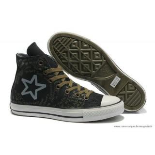 Converse All Star Haute Classic Imprimer Logo Noir