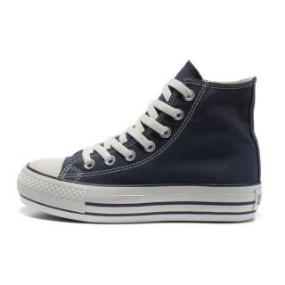 Converse All Star Soldes Paltform Bleu