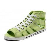 Converse All Star Soldes Par Avril Lavigne Lumière Verte