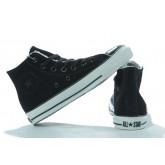 Chaussures Converse Une Étoile Blanche Cuir Velcro Étoile D