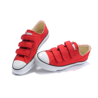 Converse All Star Pas Cher Velcro Rouge