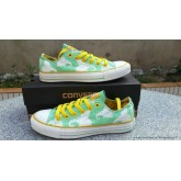 Converse Chuck Taylor All Star Basse Femme Toile Imprimer Dumbo Vert