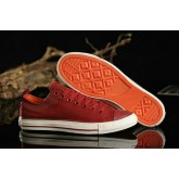 Converse Chuck Taylor All Star Basse Toile Rouge