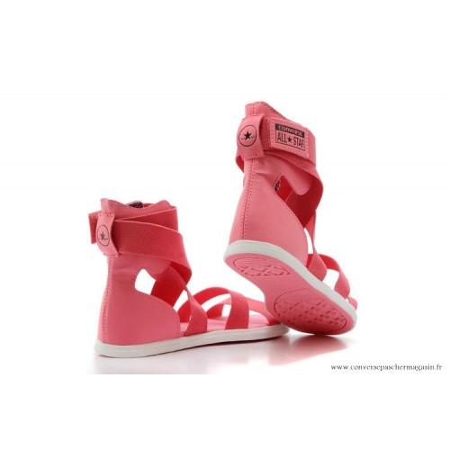 d79fc5d0384 reduced sandale converse 2c67b e9242  get converse chuck taylor all star  femme sandale élastique rose 721ae 7d74e