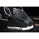Converse Chuck Taylor All Star Haute Homme Suede Chaussures Noir Homme