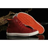 Converse Chuck Taylor All Star Haute Toile Rouge