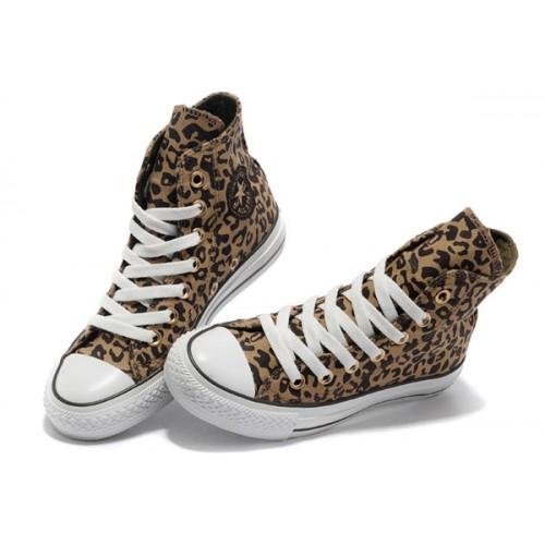 converse femme leopard
