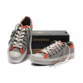 Converse Chuck Taylor All Star Plate-forme Gris Orange