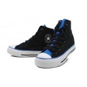 Converse Chuck Taylor All Star Plateforme Bleu Noir