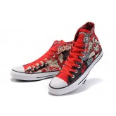 Converse France Chuck Taylor All Star Surhomme Rouge Imprimé